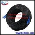 300 M Al Aire Libre Cable de Bajada FTTH Fibra Óptica Patch Cord SC SC DX SM SC-SC 300 Metros 2 Núcleos Cable de Caída de Parche cable