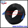 300M Outdoor FTTH Fiber Optic Drop Cable Patch Cord SC to SC DX SM SC-SC 300 Meters 2 Cores Drop Cable Patch Cord