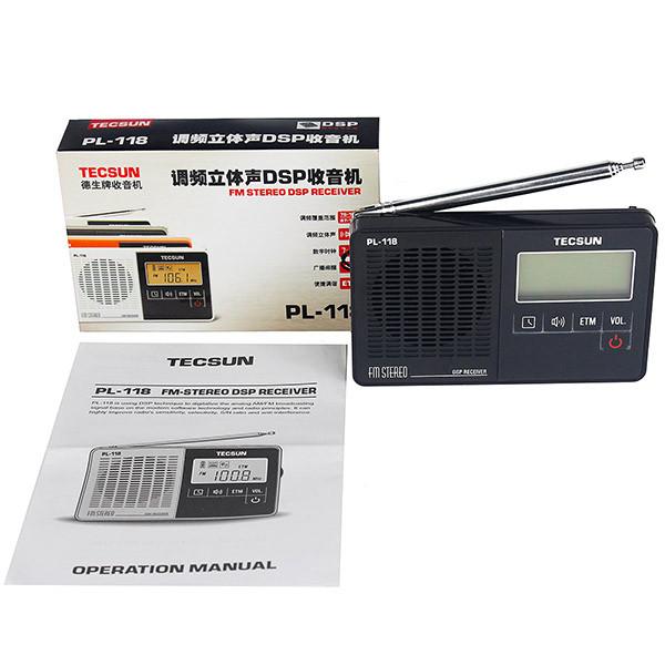 Hot Tecsun PL-118 DSP FM Stereo Radio (7)