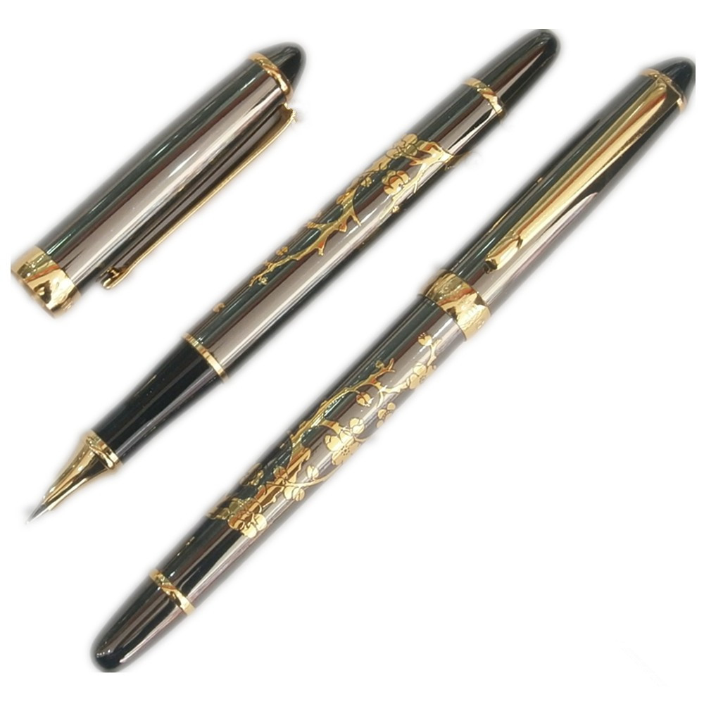 0.5mm Hooded Nib Fountain pen WingSung 016  office and school writing pens  Free  Shipping fountain pen curved nib or straight nib to choose hero 6055 office and school calligraphy art pens free shipping
