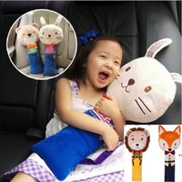 Cartoon Car Seat Belt Cover For Kids PP Cotton Padding Safety Seat Belts Shoulder Cushion Children