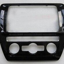 Автоматическая панель кондиционирования воздуха, фортепианный лак+ центральная консоль, панель CD для VW Jetta MK6 Golf 6