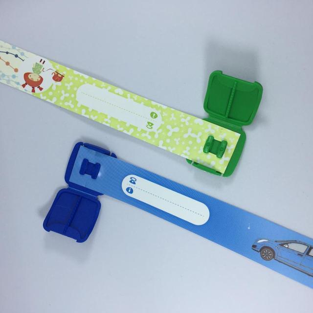 Kid's Adjustable ID Wristband
