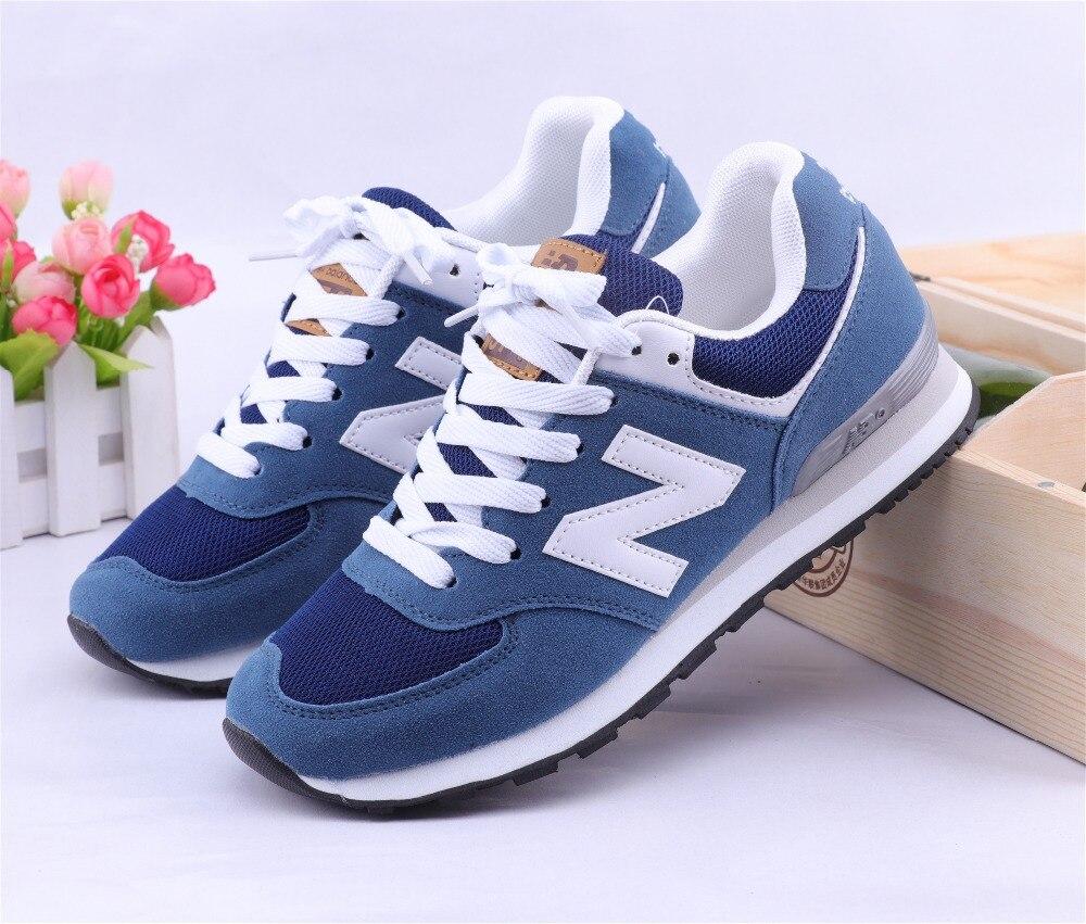 223bdfd5bbc Προϊόν - NEW BALANCE NB574 574 ms574 Men s shoes women Breathable Sneakers  Badminton Shoes size 36-44 Men24