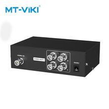 MT-VIKI 4 ports BNC video splitter 1 in 4 out sicherheit überwachung kamera HD analog video splitter mit power MT-104BC mt power se 16
