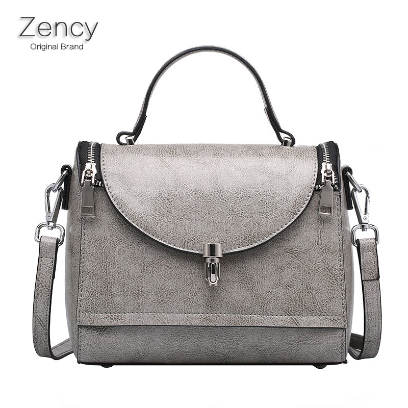 ZENCY Summer Small Women Bag Female Bags Luxury Famous Brands Handbag Woman Genuine Leather Tote Shoulder Messenger Bag 3 sizes zency bags handbags famous brands real genuine leather women handbag lady tote shoulder messenger bag