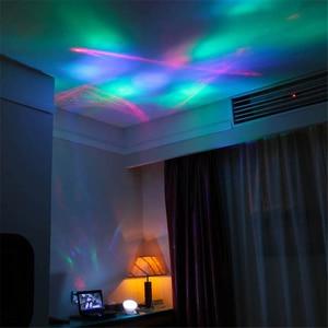 Image 4 - Coversage Nachtlampje Ocean Wave Aurora Sky Speaker Projector Baby Kids Slaap Romantische Led Starry Star Master Verwisselbare Lamp
