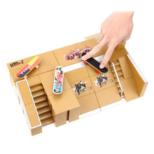 New 8pcs Skate Park Kit Ramp Parts For Tech Deck Fingerboard Excellent Extreme Sports Enthusiasts Suitable For All Ages Gifts