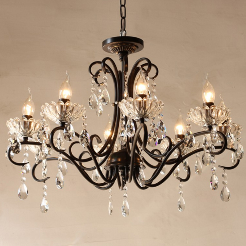Rustic Crystal Chandeliers compare prices on rustic chandelier black- online shopping/buy low