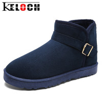 Keloch Winter Snow Boots Men Brand Rubber Ankle Boots Fashion Men Winter Shoes Cheap Men Winter