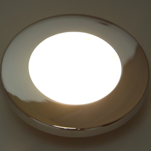 Image 3 - 1 Pcs LED Round Roof Ceiling Interior Dome Light Lamp For Boat Yacht Car RV 3000k Warm Light Stainless Steel