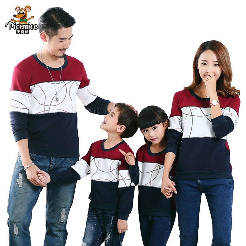 Plus Measurement Household Matching Outfits New 2019 Informal Autumn Mom Daughter Father Son Boy Lady Cotton Garments Set Household Clothes Matching Household Outfits, Low cost Matching Household Outfits, Plus...