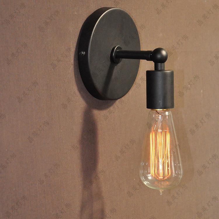 Aliexpress Buy Loft Industrial Wall Lamps Vintage Light Sconces 1 Edison Bulb Luminaria Arandela Bathroom Fixtures From Reliable