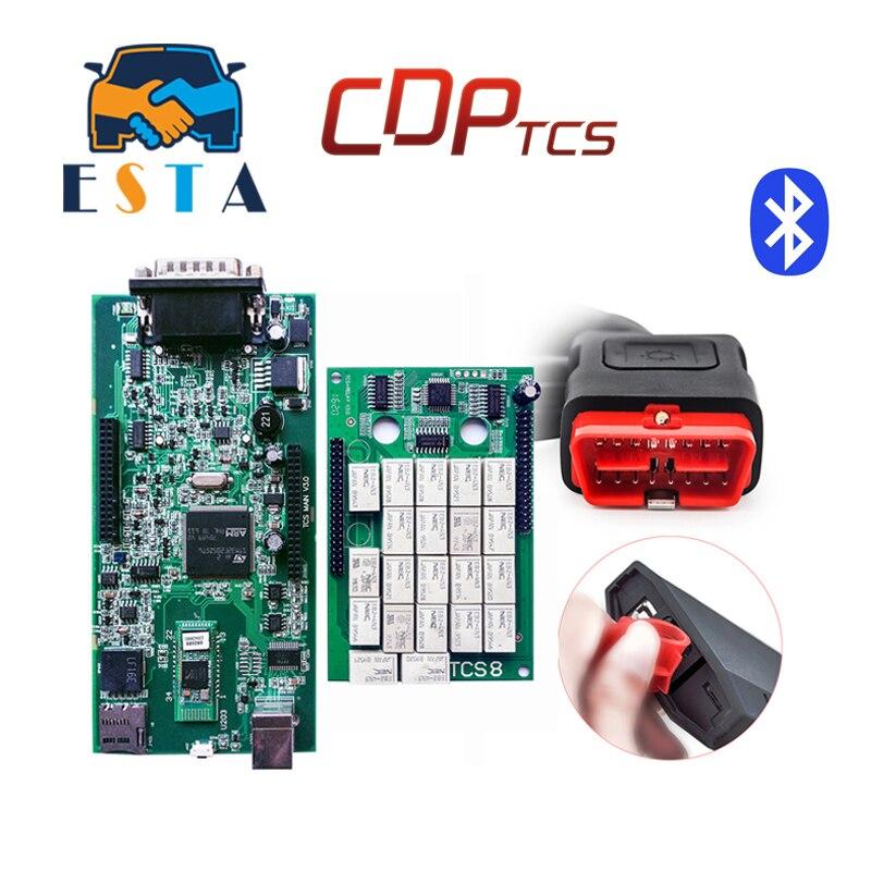 Цена за 2017 новые WOW TCS CDP 2015.3 с Keygen или 2014.2 супер CDP PRO TCS инструмент диагностики OBD OBD2 сканер инструмент для автомобилей/грузовиков