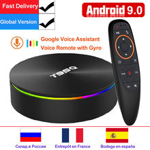 T95Q 4GB 64GB Android 9,0 TV BOX 4K reproductor de medios DDR3 Amlogic S905X2 Quad Core 2,4G y 5GHz Dual Wifi BT4.1 100M H.265 caja de TV inteligente(China)