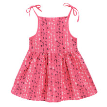 Праздничное платье принцессы в полоску с цветочным принтом для маленьких девочек; летнее платье; детская летняя брендовая одежда; платье для маленьких девочек