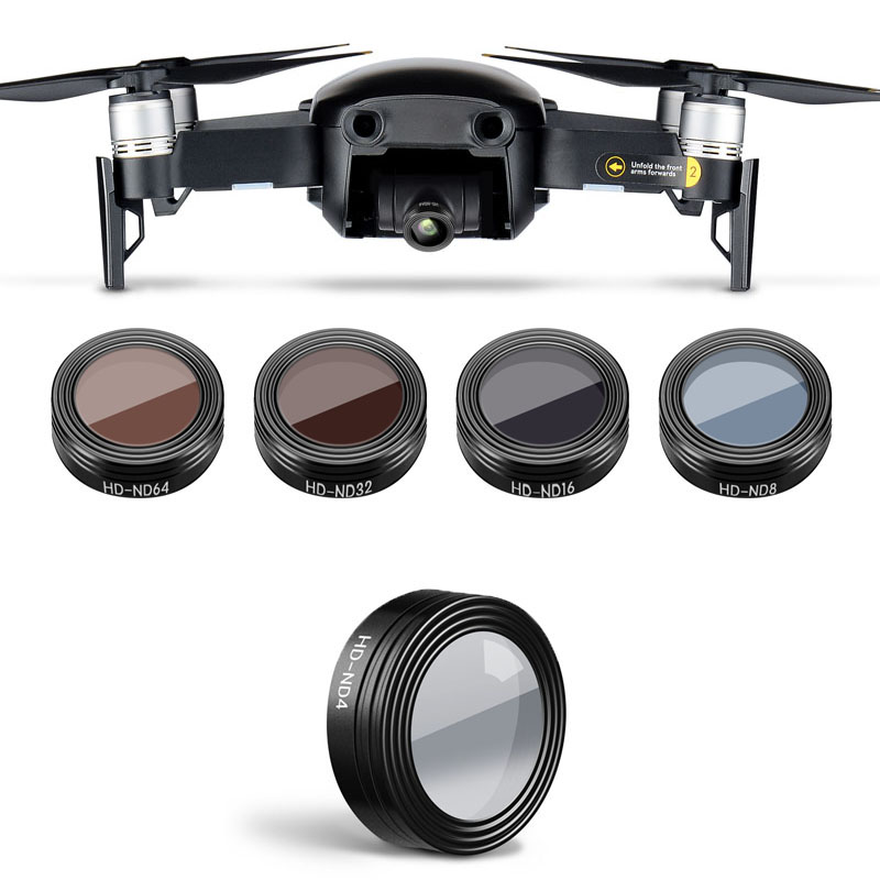 Mavic Air Lens Nd4 /nd8 /nd16 /nd32/ Nd64 Nd Hd Filter For Dji Mavic Air Drone Accessories Drone Filter Camera Filters Neutral Factories And Mines