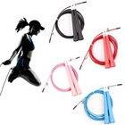 ①  3 м Регулируемая Стальная Проволока Crossfit Speed Jump Rope Прыжки 6 Цвет Спорт Профессиональный  ★