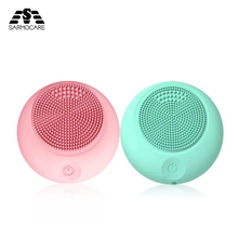 Electric Facial Cleaning Massage Brush cleansing device face wash for women machine cleanser silicone cleaning beauty tools hot cleanser electric silica gel wash face ultrasonic cleaning facical brush beauty charge waterproof clean pore device