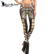 [You're My Secret] New Exquisite Design Leggings Women Steampunk Star Wars leggin 3D Print Mechanical Cosplay Pants