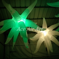 Beautiful Led light Inflatable Star For Night Club,Wedding, Stage Ceiling Decoration