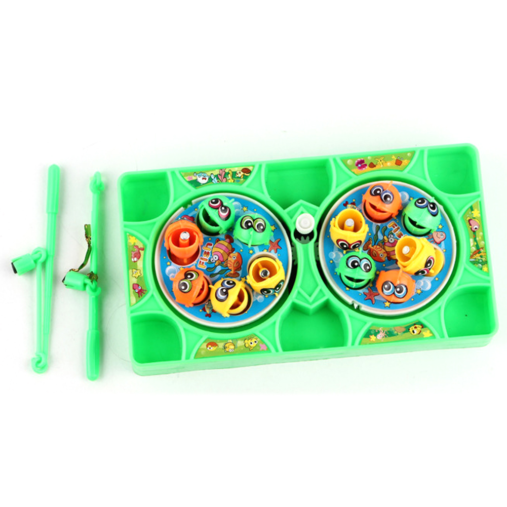 Outdoor Fun Game Fishing Toy Set Floating Play Kids Todders Learning Education Bath Colorful Gift Magnetic Waterproof
