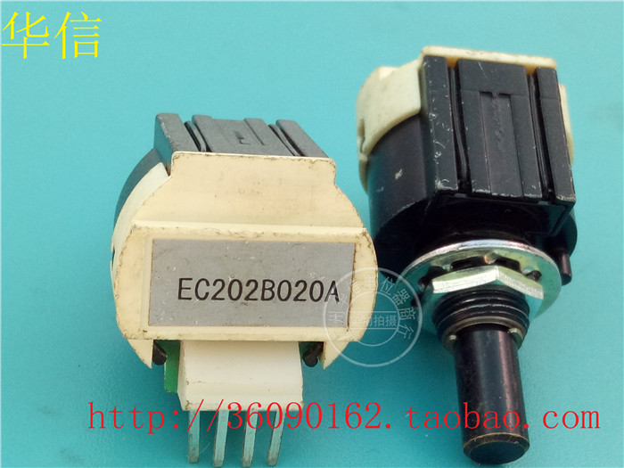 used optical encoder KA6 EC202B020A shaft 21mm 4 feet 4 pin switchused optical encoder KA6 EC202B020A shaft 21mm 4 feet 4 pin switch