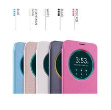 Mobile Phone Bag Case For Asus Zenfone 2 ZE551ML Case Asus Zenfone 2 ZE550ML Nillkin Sparkle leather case cover smart wake/sleep