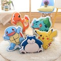 Pocket Monster Pokemon Пикачу плюшевые игрушки stamp подушка подушка Пикако, snorlax, замечательный лягушка, Джени черепаха, маленький дракон