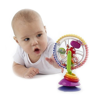 Sassy Developmental Wonder Wheel Sky Wheel Baby Infant Multi Touch Inspire Senses Toys For Baby Kids