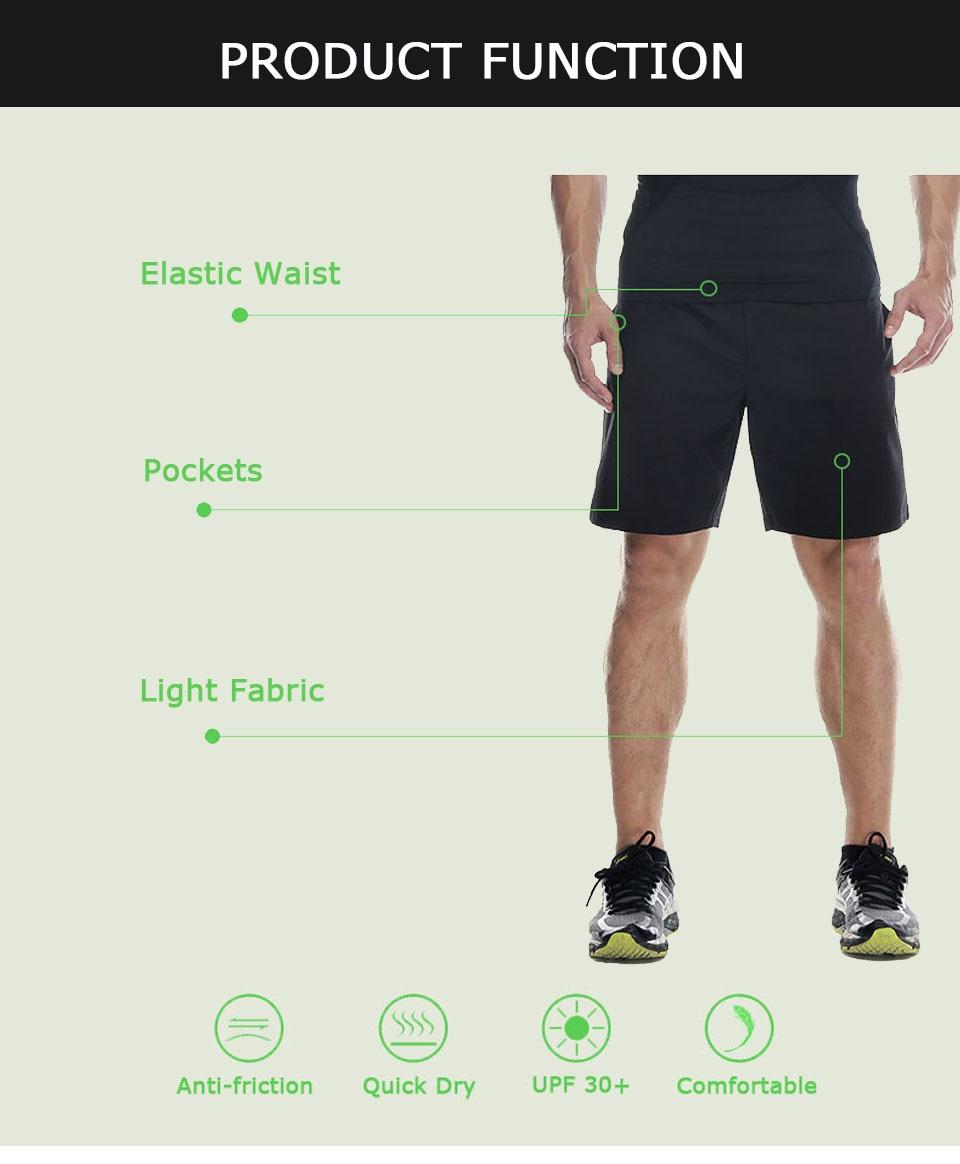 VANSYDICAL Running Shorts Men Sport Mens Marathon Gym Shorts Quick Dry Training Soccer Tennis Workout GYM Shorts Tenis Masculino 11