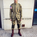 WW2 US Army Military 101 AIRBORNE PARATROOPER Suits Uniforms   US/501101