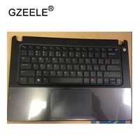GZEELE New Palmrest Topcase For DELL VOSTRO V5460 5460 5470 P N 56M9 US Keyboard Upper