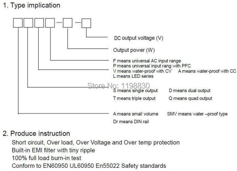 HTB1BSwgIpXXXXccXpXXq6xXFXXXo - 400 W 48 V 8.3A Output tunggal Switching power supply untuk memimpin, Strip cahaya AC ke DC dipimpin Driver