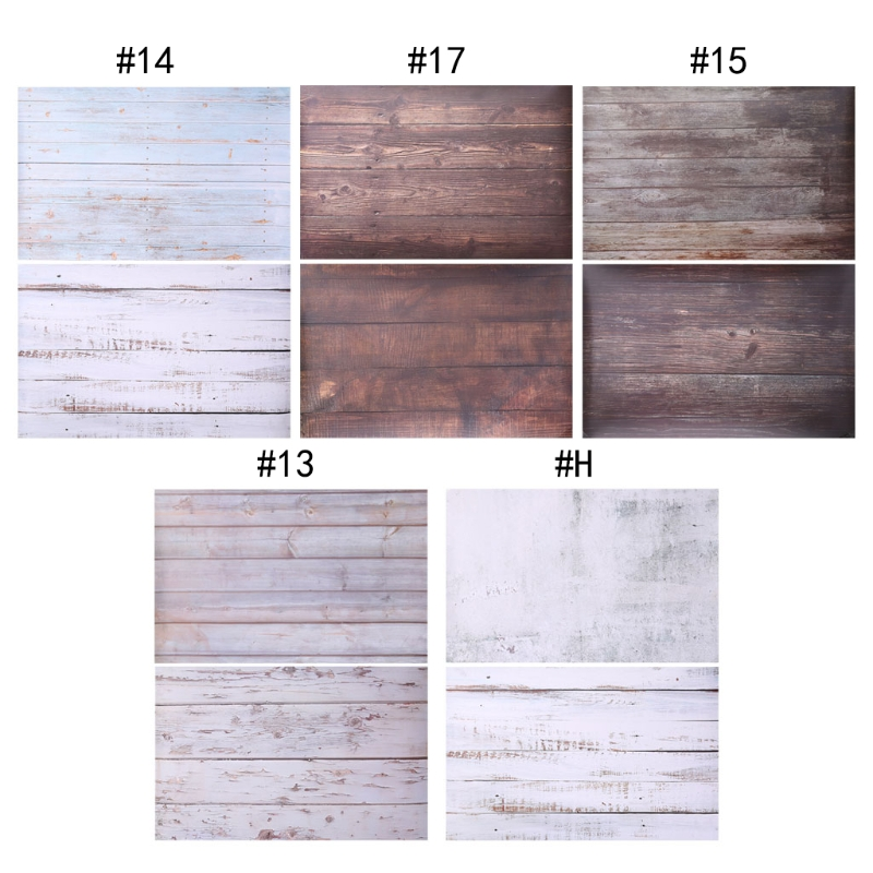 2-Side Hot INS Style Wood Grain Texture Paper Background Studio Backdrop Photo Photography Prop Decor Photography Shoots