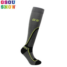 GSOU SNOW Brand Ski Socks Men Women Children Winter Thermal Outdoor Sport Socks Cycling Running Yoga Skiing Snowboarding Camping