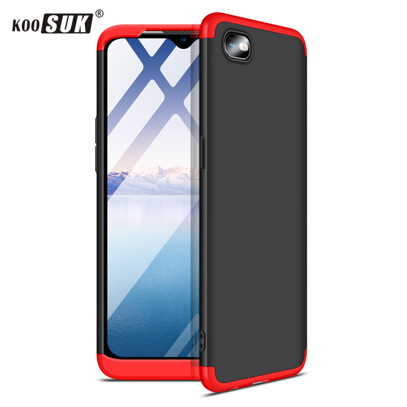 OPPO A1K Phone Case Koosuk 3-in-1 Protective Matte PC Hard Back Cover For oppo a1k Realme C2 Shockproof Armor Case Coque