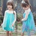 Traje elsa rainha da neve traje do floco de neve do bebê menina ariel rapunzel princesa sofia anna vestido infantil vestidos de festa roxo