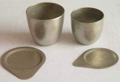nickel crucible with cover laboratory equipment 50ml nickel crucible no cover good quality
