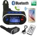 Carro LCD Bluetooth 2.1 Handfree USB MP3 Player FM Transmissor Sem Fio Modulador