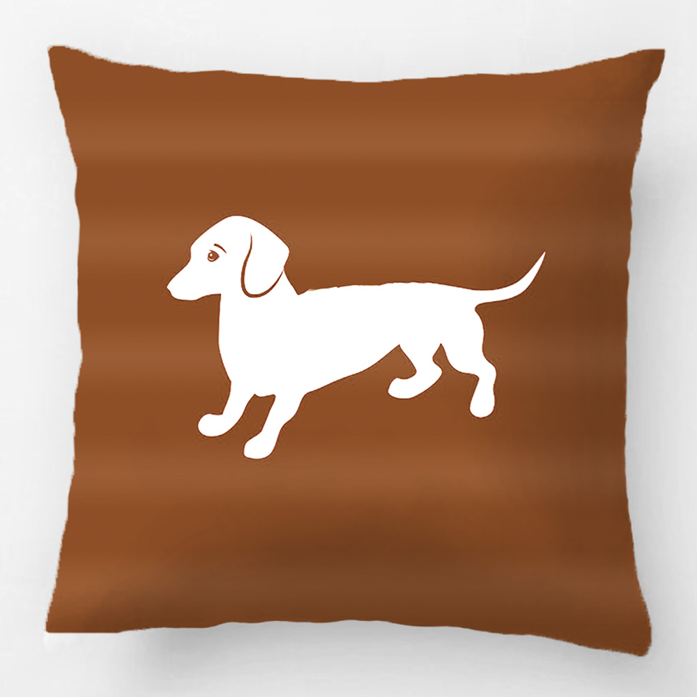 popular dachshund pillow casebuy cheap dachshund pillow case lots  - red and white dachshund throw pillow case decorative cushion coverpillowcase customize gift by lvsure for