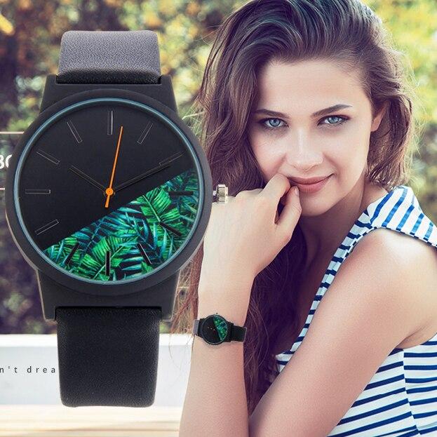 Bgg New Green Bamboo Women Watches For Chinese Brand Fashion Ladies Leather Wristwatch Female Waterproof Clock Femmes Horloge цена