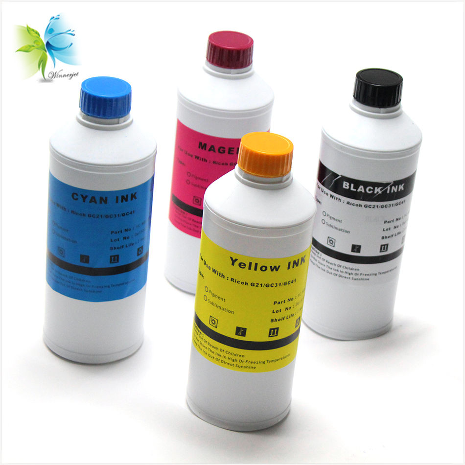 WINNERJET 1000 ML for Sawgrass Sublimation Ink Used Ricoh sg3110dn Cartridge