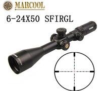 MARCOOL EVV 6 24X50 SFIRGL FFP 308 win в наличии тактильные снайперские оптические прицелы Pistola Aria Compressa Jacht Scopes