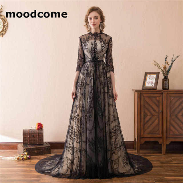 2018 Vintage A Line Mother of the Bride Dress Custom Made Three ...