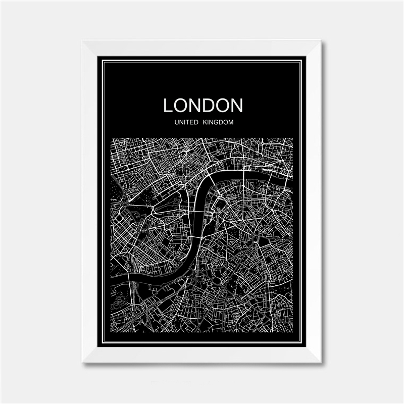 London uk city world map poster abstract vintage paper print picture london uk city world map poster abstract vintage paper print picture bar cafe pub living room bedroom house decor 42x30cm in wall stickers from home gumiabroncs Gallery