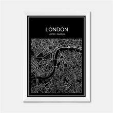 Buy london wall map and get free shipping on aliexpress london uk city world map poster abstract vintage paper print picture bar cafe pub living room gumiabroncs Image collections