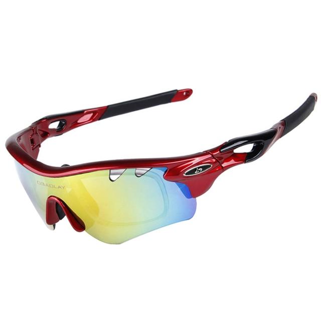 a5f871af74129 Óculos de ciclismo Óculos Polarizados Óculos de Ciclismo Óculos De Sol  Estrada de Montanha Da Bicicleta