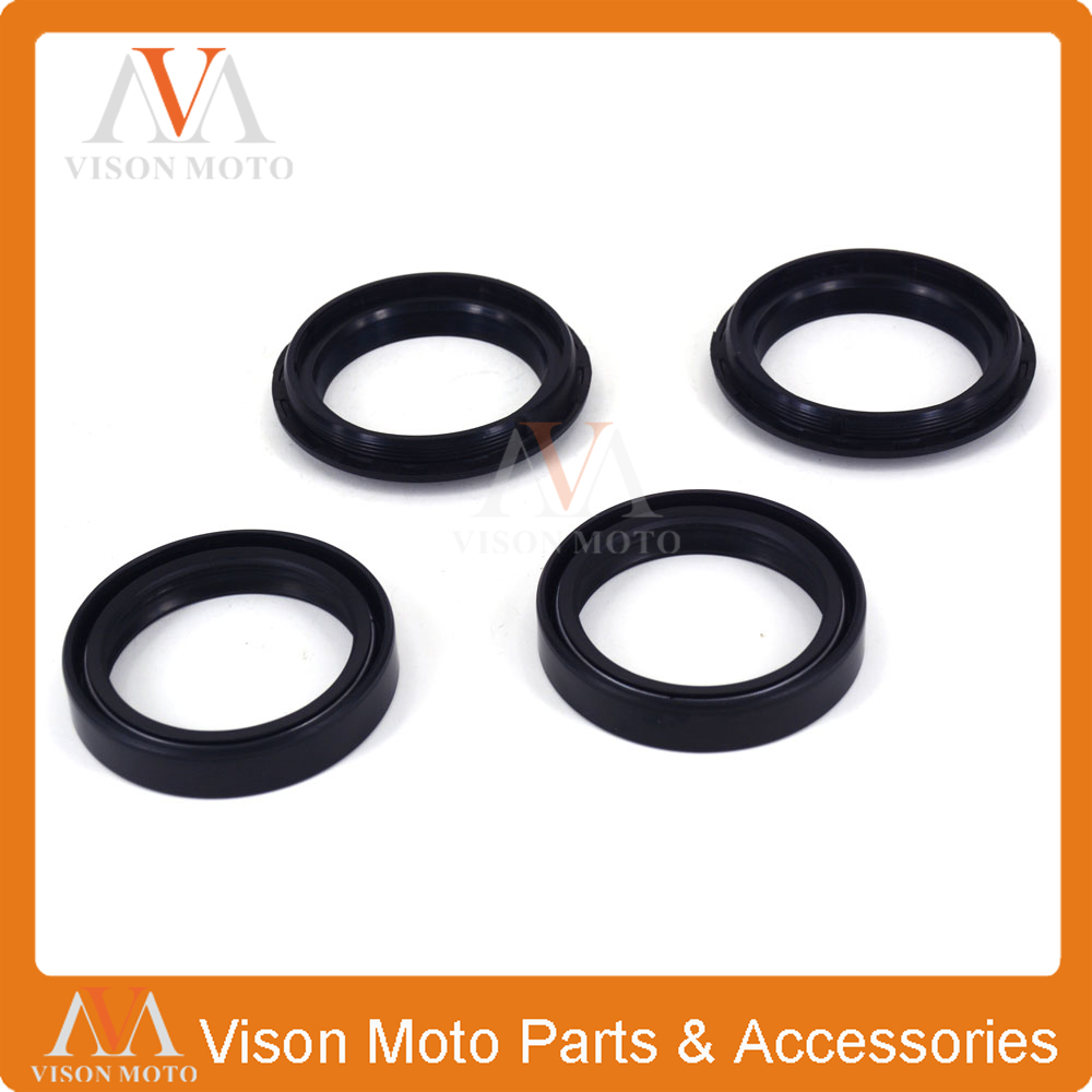 Front Shock Absorber Fork Damper Oil Seal For KTM EXC300 MXC300 EGS300 EXC400 MXC400 LC4-E 400 SX400 EXC520 SX520 MXC520  front shock absorber fork damper oil seal for kawasaki zx600 ninja zx6 90 01 zx 6rr zzr 600 zx636 zx6r kle650 versys motorcycle