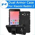 Для Xiaomi Redmi 2 Case 100% New Mix Цвет ТПУ & PC Пластиковые Dual Броня Назад Case С Подставкой Для Xiaomi Redmi 2 Сотовый телефон